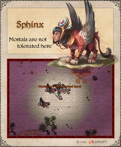 Sphinx Creature Artwork