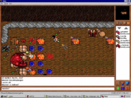 Magic Sword Quest - Daemon fight