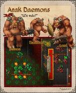 Arak daemons