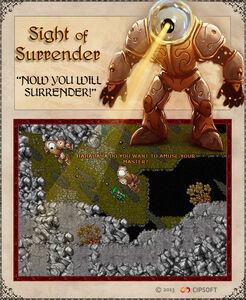 Sight of Surrender