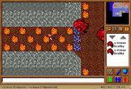 Magic Sword Quest - Main room corridor