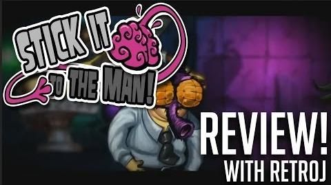 Stick It To The Man REVIEW + WIN A COPY OF THE GAME! (PS3)
