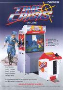 Time Crisis Arcade Flyer 1