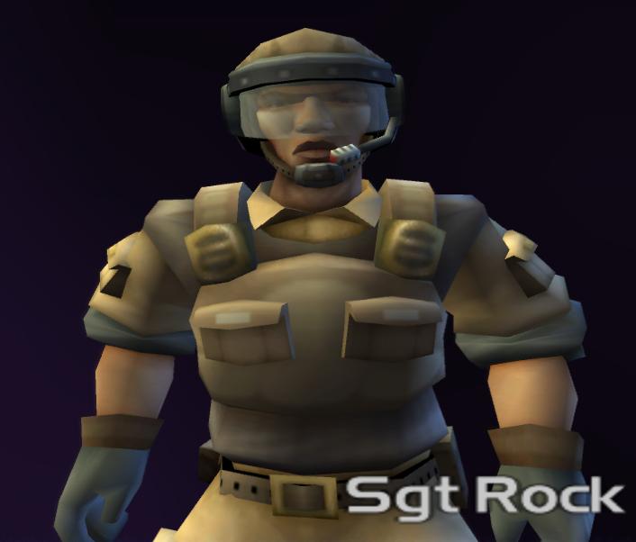 Sergeant Rock