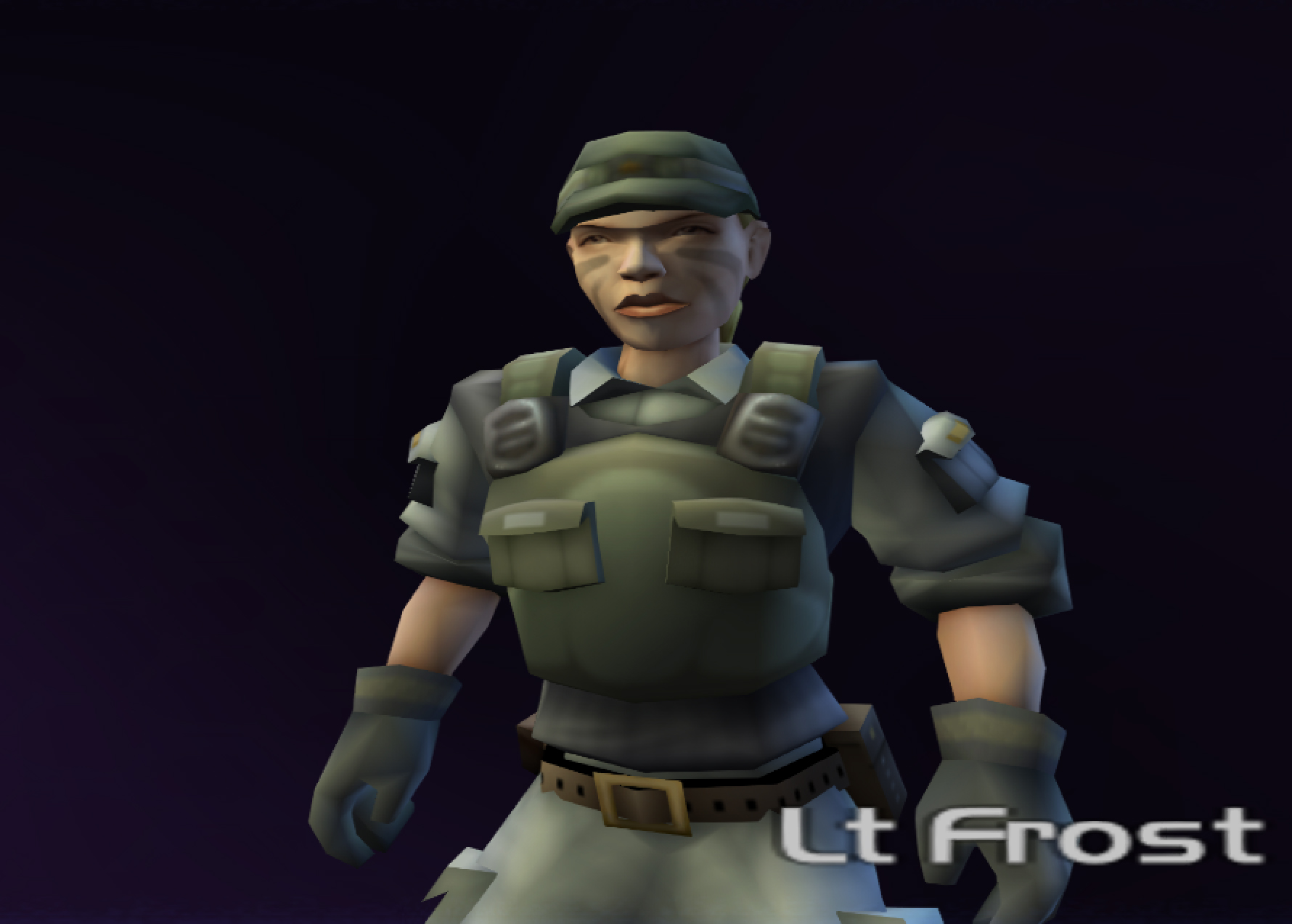 Lieutenant Frost