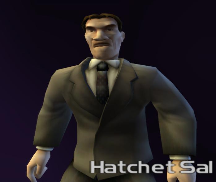 Hatchet Sal
