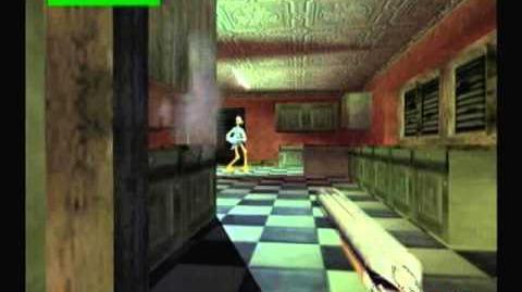 Timesplitters 1 showcase Cheat menu & Effects in Gameplay