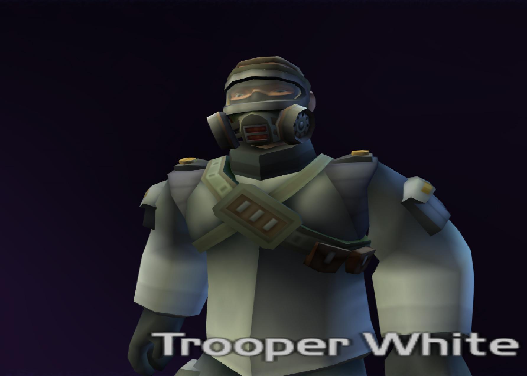 Trooper White