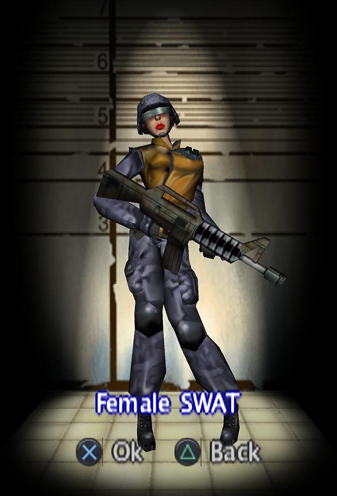 Female SWAT