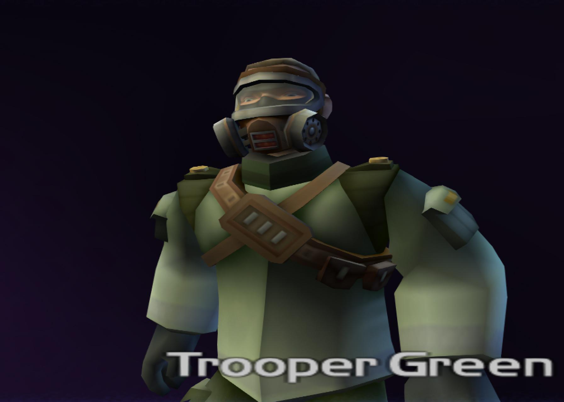 Trooper Green