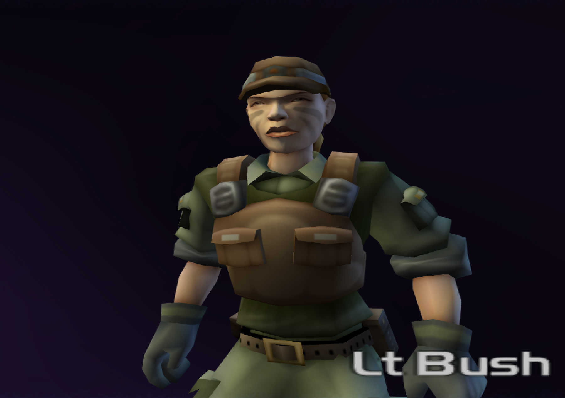 Lieutenant Bush