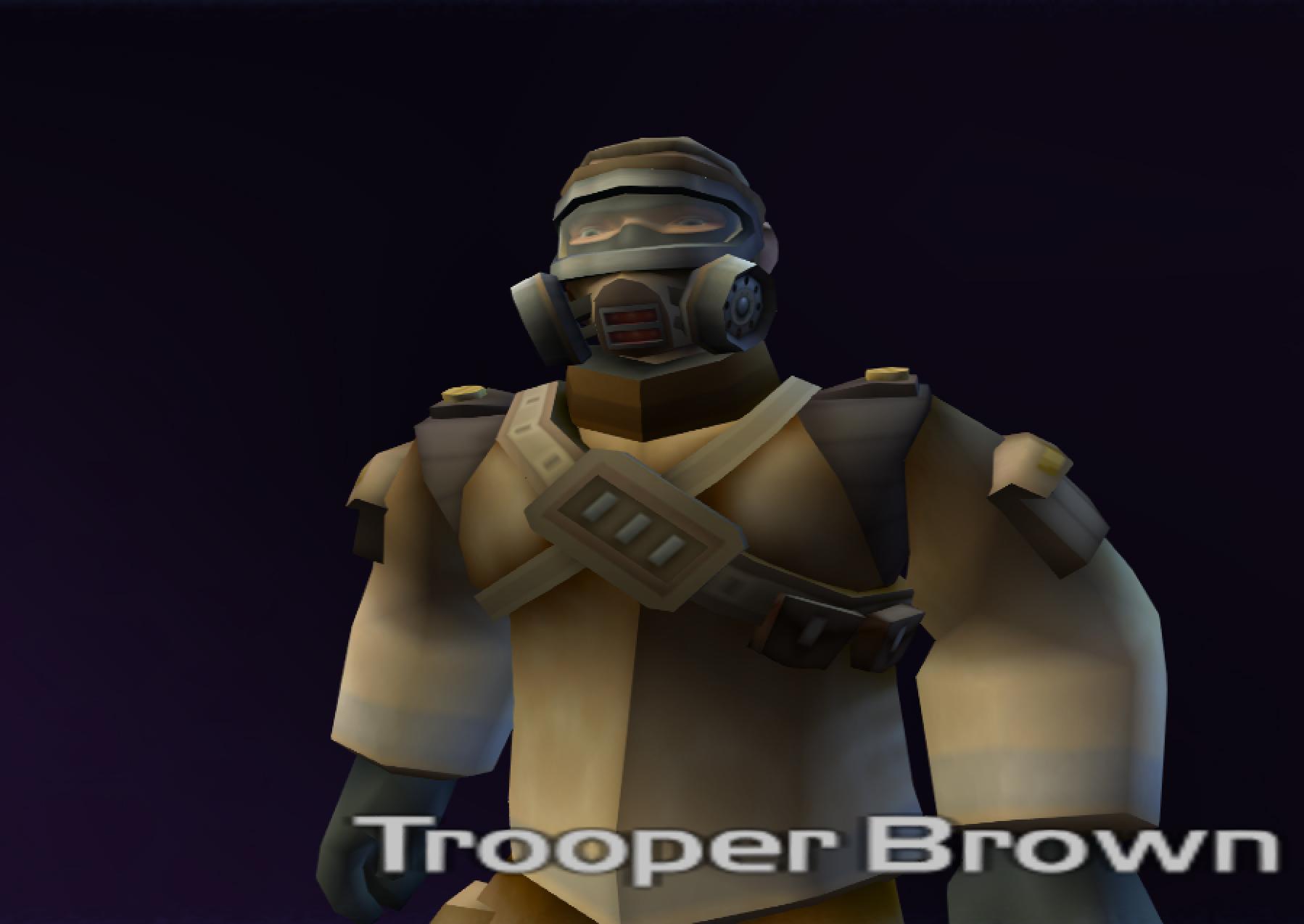 Trooper Brown