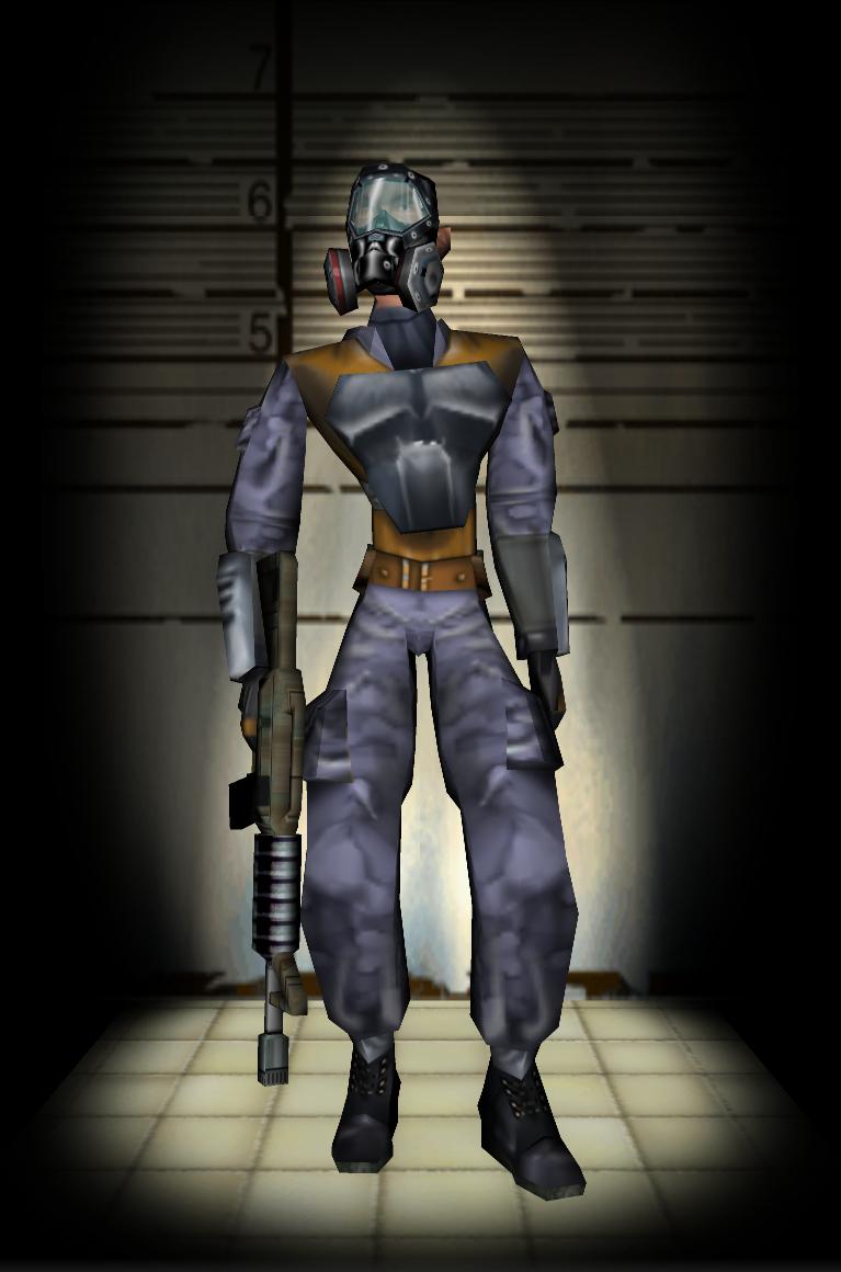 Gasmask SWAT