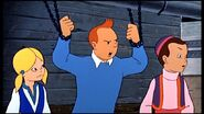 Tintin trapped