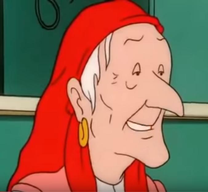 Unnamed Elderly Gypsy Woman