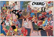 Tintin chang surprise