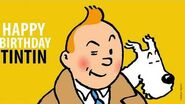 90 Years of Tintin - Happy Birthday!