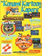 1994KonamiKartoonKapersMagazineAdvert
