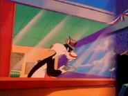 Sylvester in Son of the Wacko World of Sports