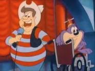 Dizzy in a game show