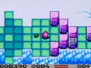 Dizzy and Bookworm in Dizzy's Candy Quest