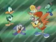 Plucky-Dizzy-Shirley-Beeper-Gogo YAFI