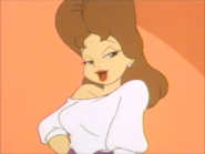 Mitzi Avery with brown hair