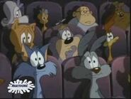 Toons in the Acme Acres theater