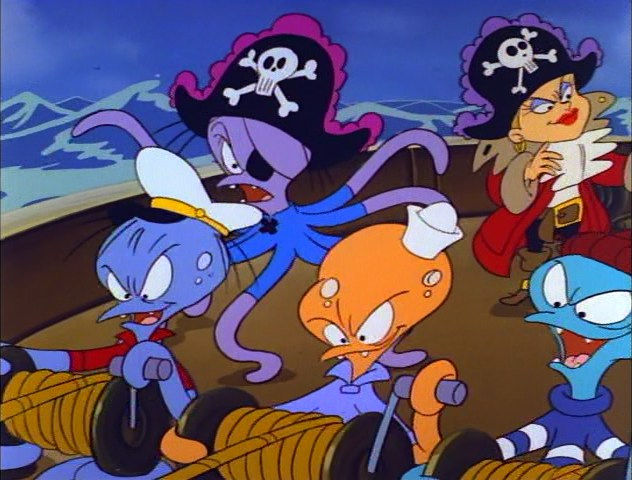 The Octopi Pirates