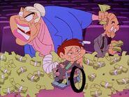 Max bribed the FOX executives