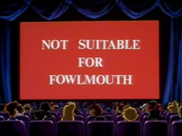 Not Suitable For Fowlmouth