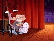 Evil max...in a wheelchair