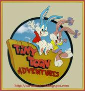 Tiny toons logo 1990 with cartoonatics bug