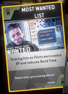 Most Wanted list card