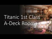 Titanic A-Deck 1st Class Rooms