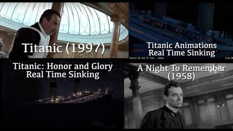 Depictions of Titanic's Final Plunge - In Film and Real Time