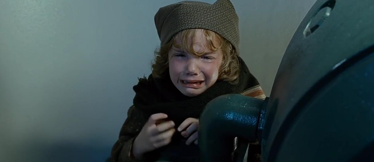 Cal's Crying Girl