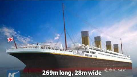 Chinese firm builds full-size Titanic replica