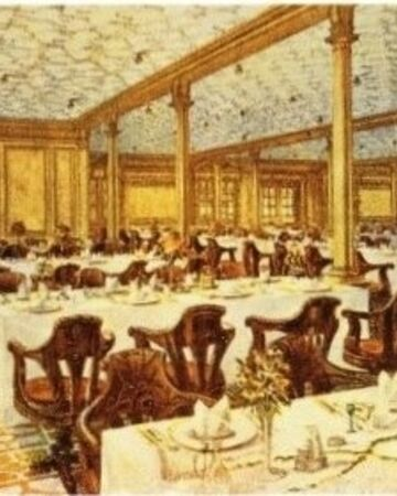 Second Class Dining Room Titanic Wiki Fandom