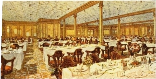 Second Class Dining Room