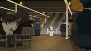 The Third Class General Room in Family Guy -Stewie, Chris & Brian's Excellent Adventure- (2015)