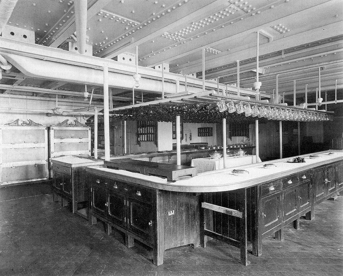 First & Second Class Galley