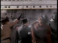 Titanic leaves Southampton