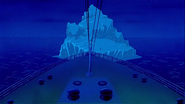 The Iceberg, as seen in The Legend of the Titanic (1999)