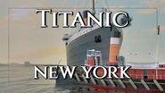 Titanic Arrives In New York - Titanic Week 2020