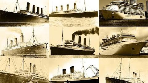 20th Century Largest Passenger Ships - 1900 to 2000