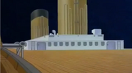 The Boat deck in Titanic The Legend Goes On (2000)