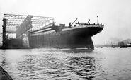 Titanic-launch