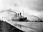 Titanic sea trials
