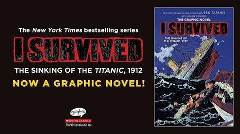 I Survived The Sinking of the Titanic, 1912 (I Survived Graphic Novel 1) Official Sneak Peek